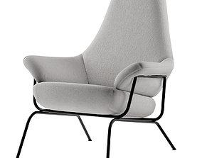 3D model finnish Hai lounge chair