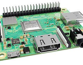 3D model VR / AR ready Raspberry pi 3A plus