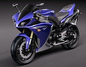 3D Yamaha YZF - R1 2010