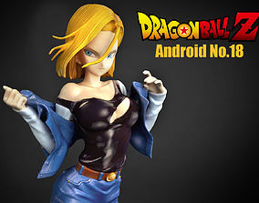 3D model Android No18