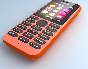 Nokia 103 Red 3D