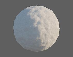 Snow material 3D