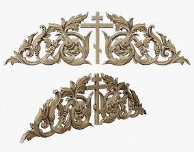 3D print model Onlay medieval