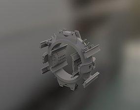 spaceship model W