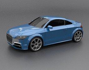 Audi TTS 2011 restyled 3D model