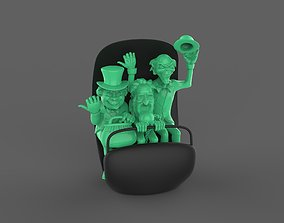 Hitchhiking Ghosts in Doom Buggy The 3D print model 1
