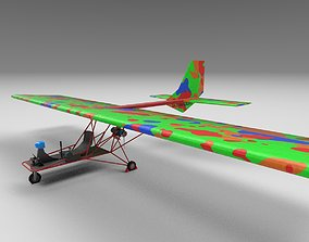 UltraLight plane 3D asset