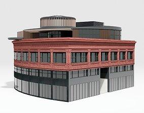 Kapor Center Building 3D model