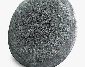 Realistic Aztec Calendar 3D model