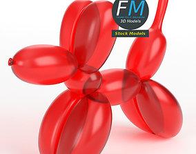 3D PBR Balloon dog