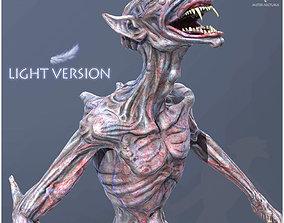 3D model animated Mister Vampire Light Version