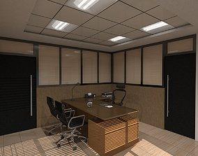 Director Room 3D model