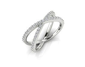 3D print model silver Ring 75