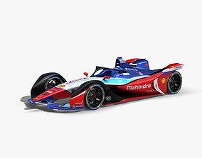 Mahindra Formula E 2020 3D model