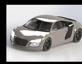 3D automobile-lift AUDI r8