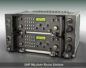 3D UHF VHF Military radio system