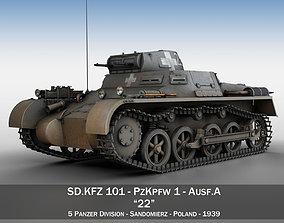 3D PzKpfw 1 - Panzer 1 - Ausf A - 22