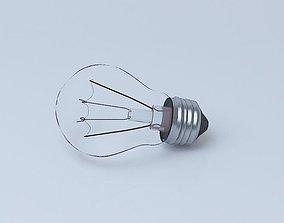 Lightning bulb 3D model