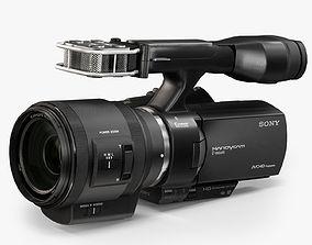 3D model Sony Nex-VG30EH kit Selp-18200