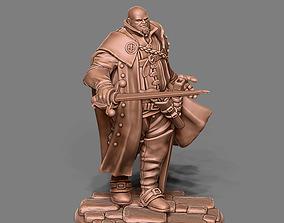 Musketeer - Porthos - 35mm Scale 3D print model