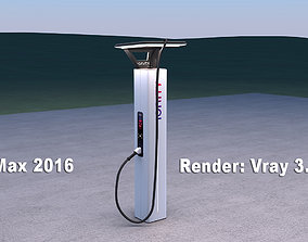 3D model Ionity electric vehicle charger