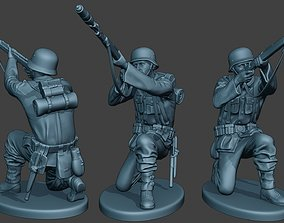 3D print model German soldier ww2 Schiessbecher G5