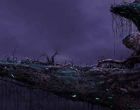 Fantasy Cliff 3D