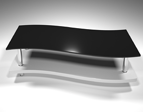 Wavy Coffee Table - 3ds Max