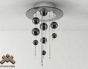 Bubbles 6PLP Lamp 3D model