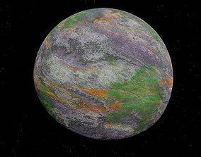 alien moon 006 3D asset