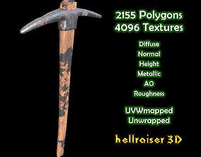 Pickaxe - Textured 3D asset