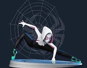 3dprinting 3D printable model Spider Gwen