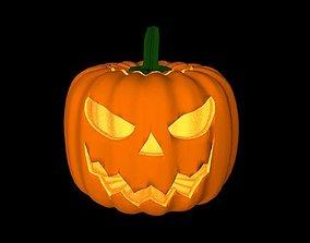 Pumkin Halloween - Good Jack and Bad Jack 3D Model