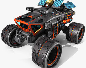 Exoplanets Rover 3D model