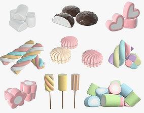 3D Marshmallows