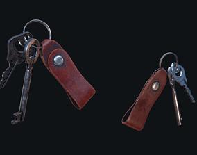 3D model HQ PBR Keychain