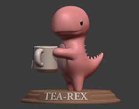 Tea-Rex figure 3D print model