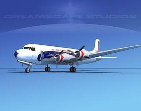 Douglas DC-6 Eastern Airlines 1 3D