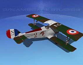 Nieuport 17 V03 France 3D model