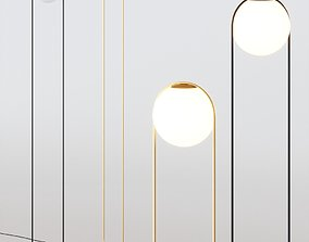 B Lux Ball Floor Lamp 3D model