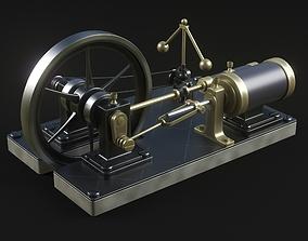 Steam engine 3D unit