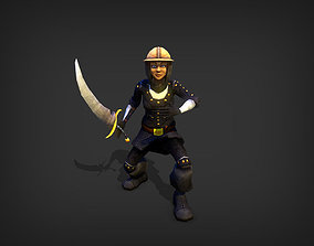 Blademaster Model animated