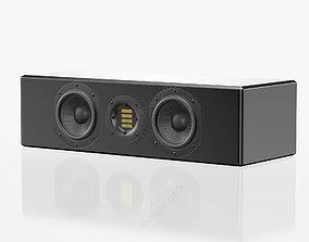 Adam Audio ARTist 6H Gloss Black 3D model
