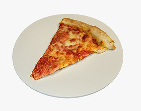 Pizza slice 3D asset