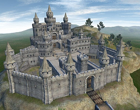 Castle - Game ready 3D asset