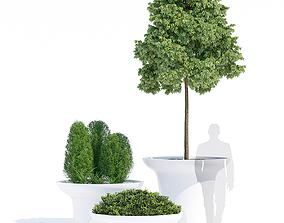 Balzac planters 3D model