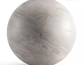 3D Seamless texture of beige marble
