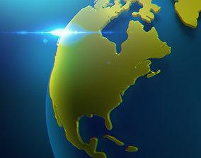 3D model Globe - Earth