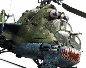 Mil Mi-24P Hind F 3D model