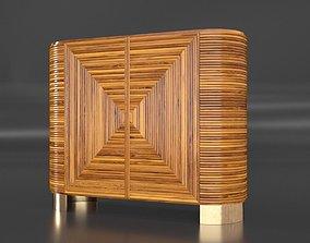 3D model Avalon Rattan Bar